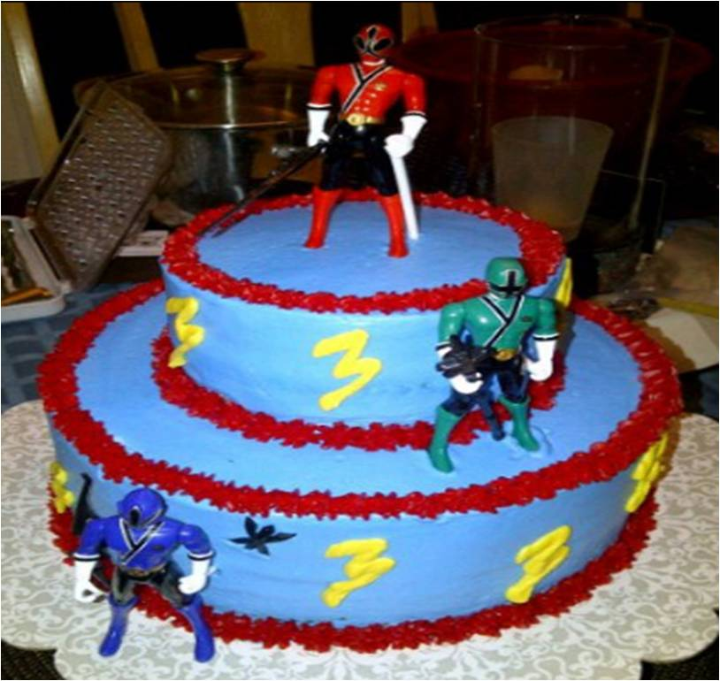 Cakes By Nichole Power Rangers Cake
