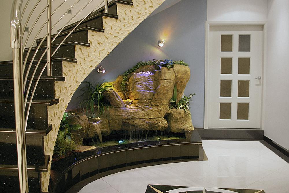 Tudo pra Casa Ideias Criativas Jardim de Inverno debaixo de Escadas