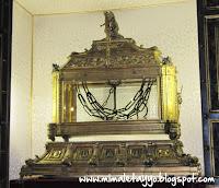 Las cadenas de San Pedro, en Roma
