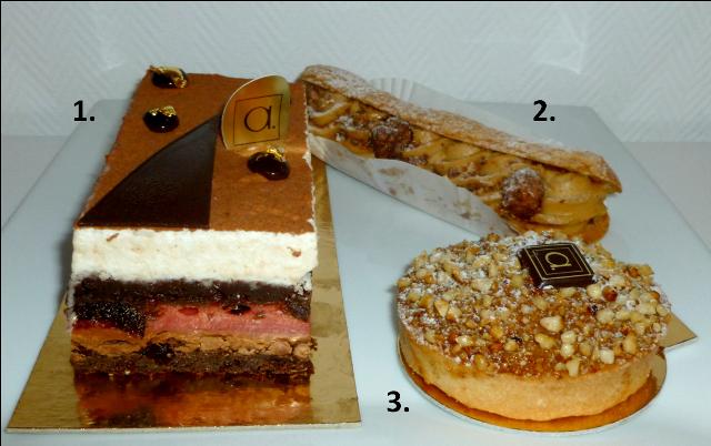 image Pâtisserie Alexandres à Montauban petits gâteaux