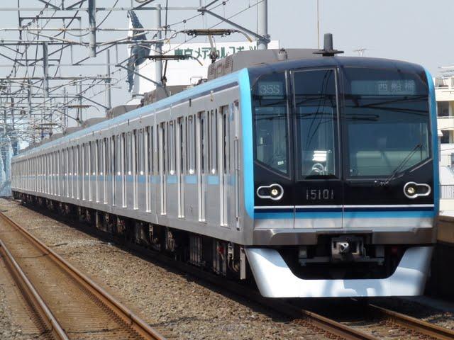 東京メトロ東西線 西船橋行き5 15000系