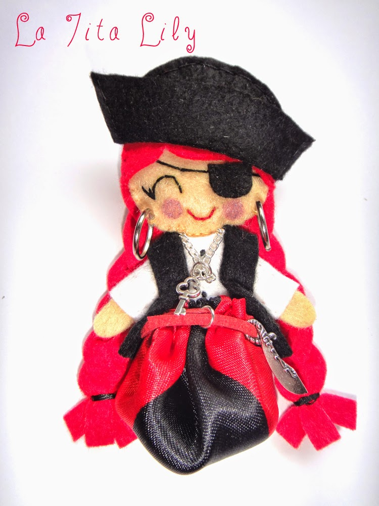 Broche pirata Morgan