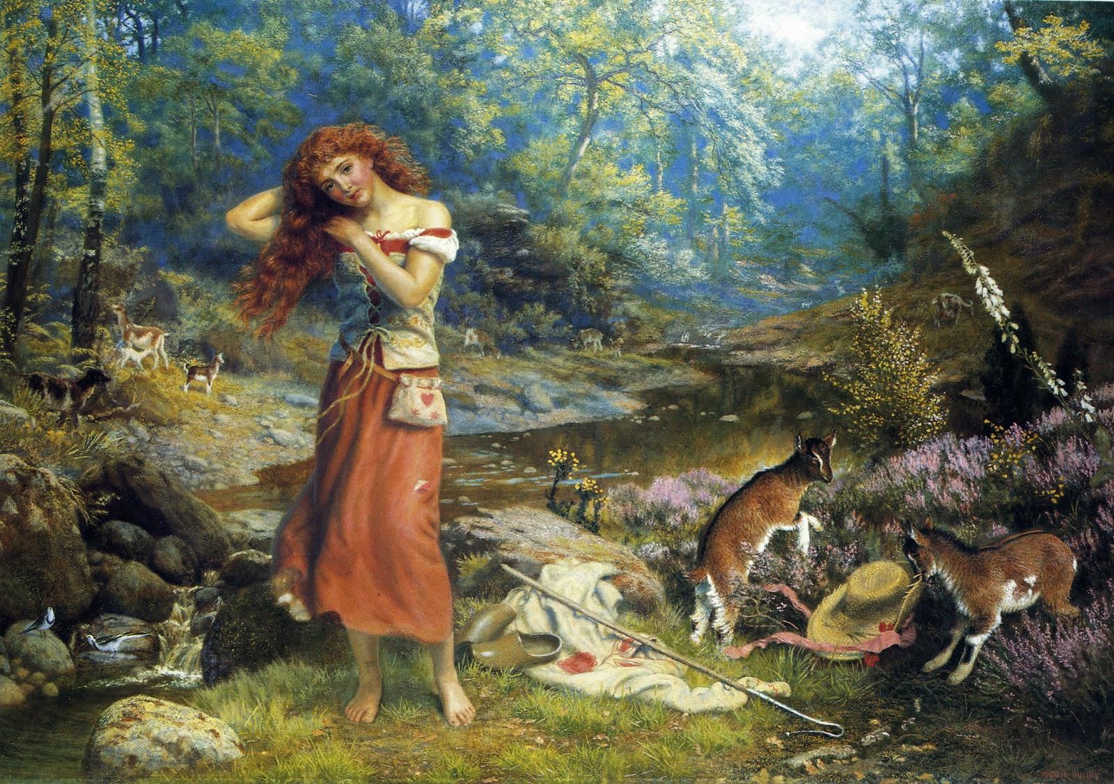 R Collier Artist Victorian British Pain...