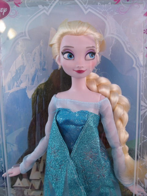 Disney Store Elsa doll