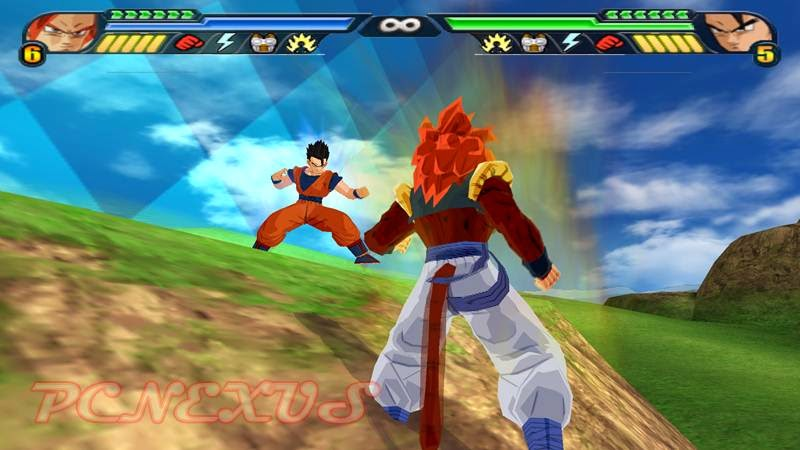 Dragon Ball Z budokai tenkaichi 3 on Windows 7 with PCSX2