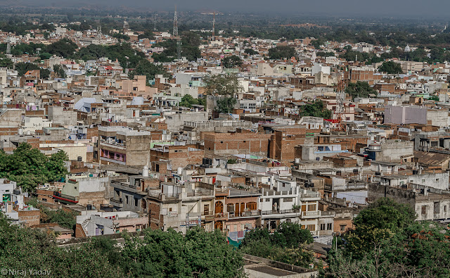 View of Jhansi city