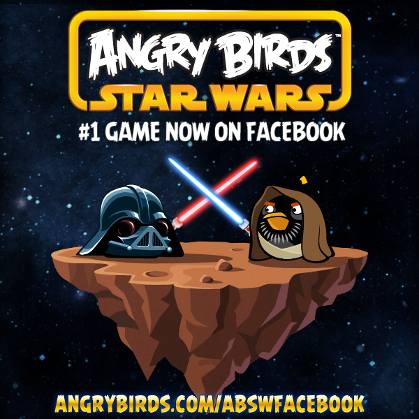 Jogar Angry Birds Star Wars no Facebook