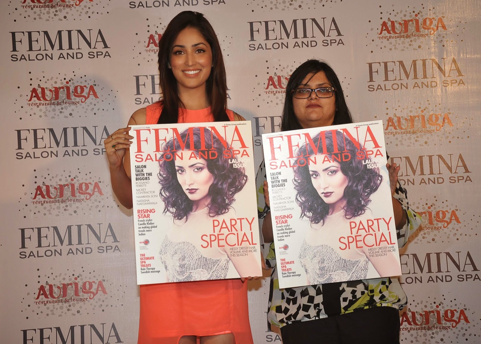 Actress, Bollywood, Bollywood actress, Entertainment, FEMINA, India, Launch, Magazine, Mumbai, Salon, Showbiz, Spa, Yami Gautam, Yami Gautam Photo,