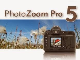 برنامج PhotoZoom Pro 5 لتقوية الريزوليشن وتكبير الصورة