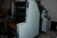 mesin cetak offset oliver 58
