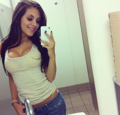 cute teen girl selfie - photo #10
