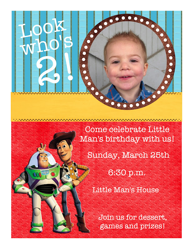 Toy Story Themed Birthday Party With Printables Six Sisters – Toy Story Party Invites