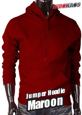 Jumper Hoodie Maroon