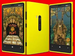 Game Temple Run Hadir di Windows Phone