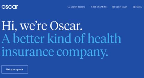 Page d'accueil Oscar