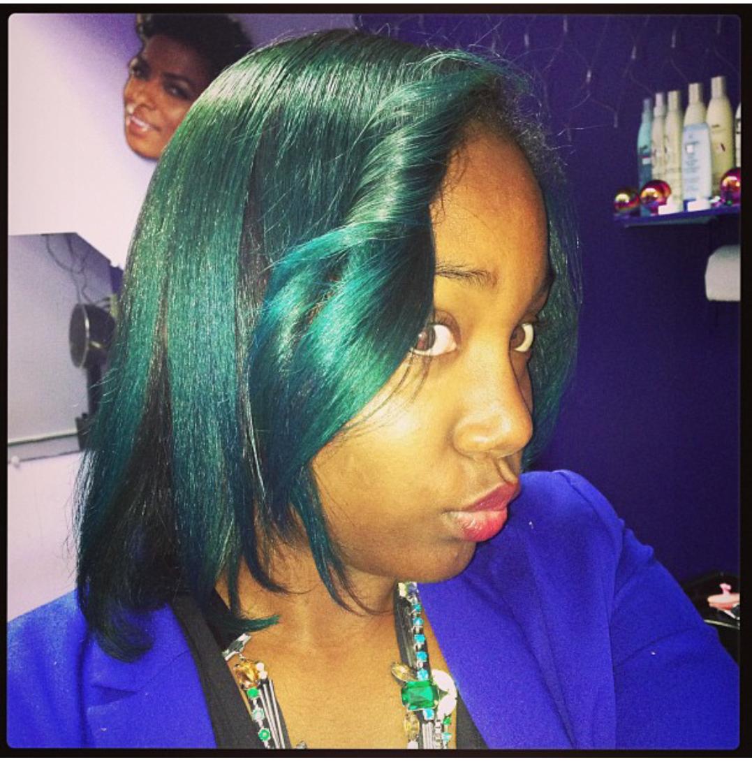 Treating Natural Hair After Coloring