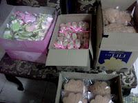 Tempahan Fancy Cookies dan Bahulu kemboja