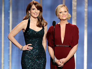 Golden Globes hosts Tina Fey and Amy Poehler