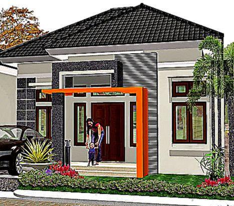 Bentuk Rumah Minimalis Modern Tipe 36 Terbaru Tampak Depan