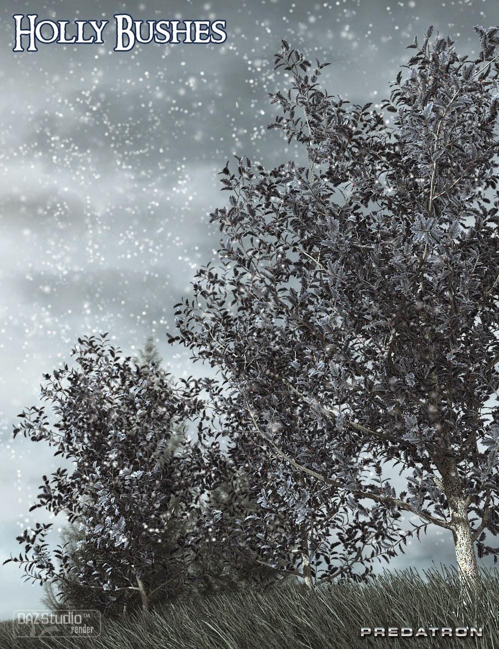 Predatron buissons de houx