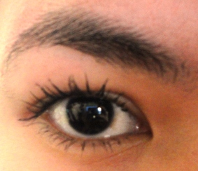 Lashes with Nichido Length & Curl Mascara @ Beauty Bunker
