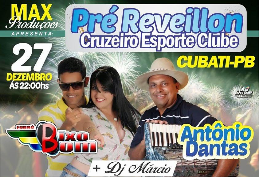 Pré Reveillon em Cubati-PB