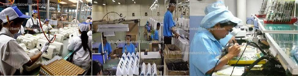 Kesempatan Kerja Seleksi Job Taiwan Pabrik Industri