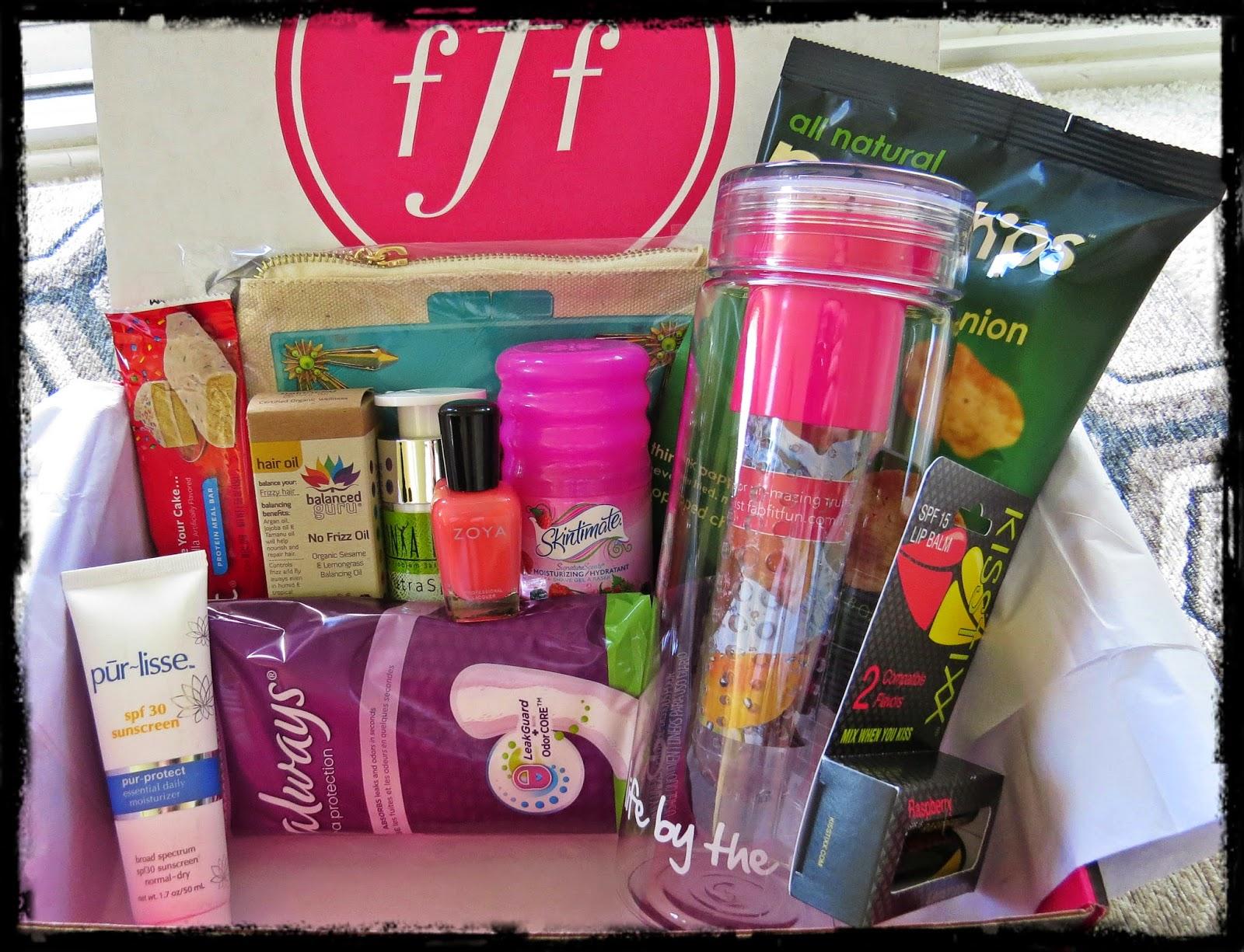 Summer 2014 FabFitFun Box