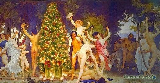 'Paganismo e bacanais ancestrais': A história secreta da Árvore de Natal