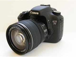 Canon EOS 7 D, new Canon EOS 7D, Canon DSLR camera