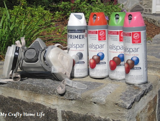Calling it home spray painting safety for Spray paint safety