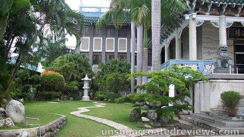 grounds of Lon Wa Buddhist Temple in Davao City, Philippines