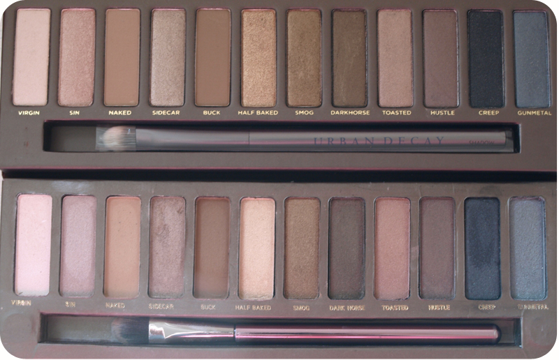 Looks Good from the Back: Urban Decay Naked Palette: Real