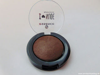 Essence - I love Nude Eyeshadow - 06 Coffee Bean - www.annitschkasblog.de