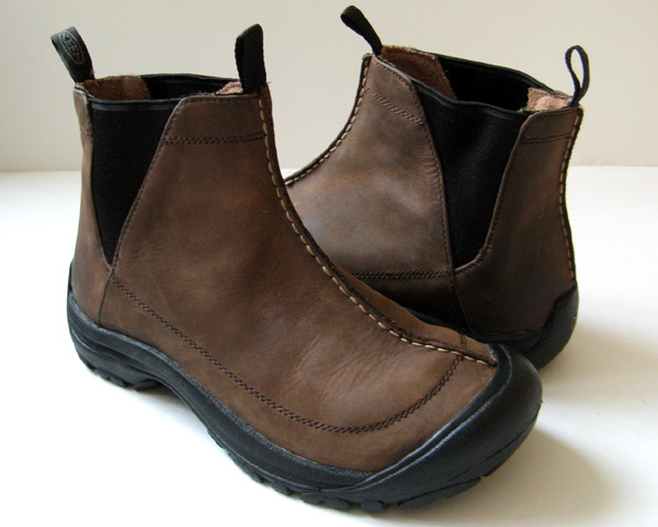 Good Closet Keen Shoes Brown Leather Ankle Boots Womens