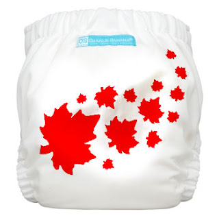 charlie banana maple leaf diaper