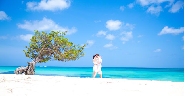 Destination wedding photography aruba