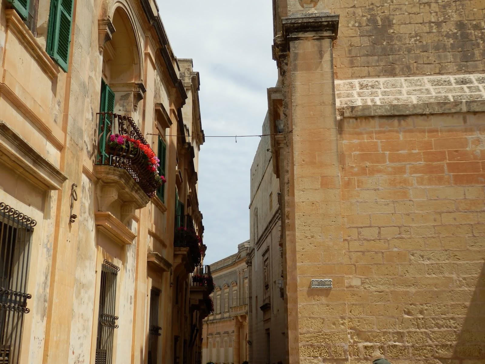 Inside Mdina Malta