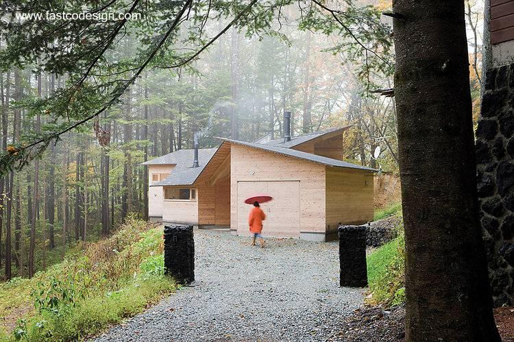 Arquitectura de casas: diseños y modelos de cabañas y cabinas.