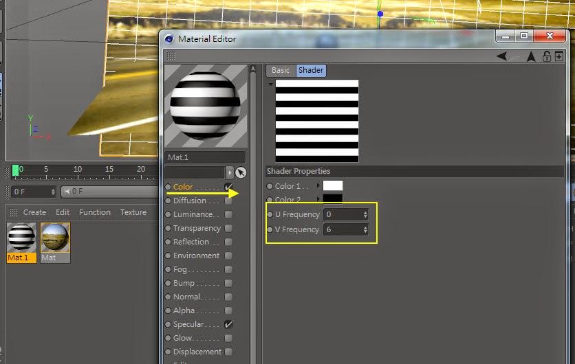 3d object on  2d image inC4D 20