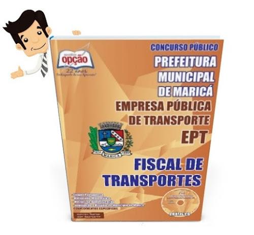 Apostila Concurso EPT Maricá 2015 - Fiscal de Transportes