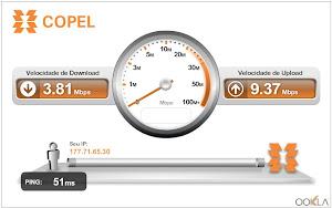 Teste Sua Velocidade de Internet Agora !!!