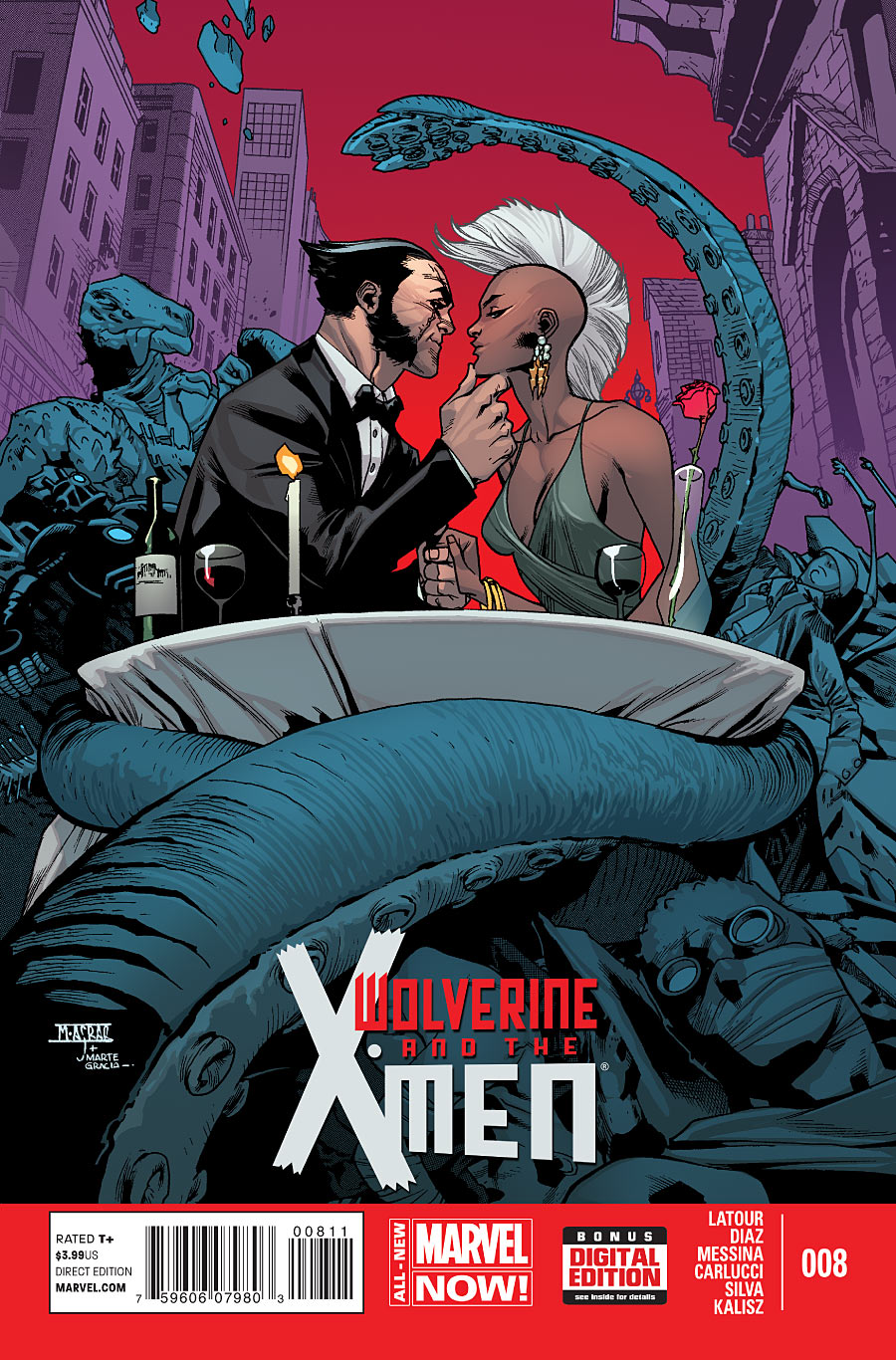 WOLVERINE and THE X-MEN#08
