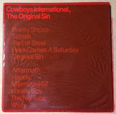 Cowboys International - The Original Sin, outer sleeve