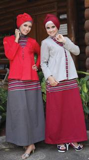 Model Busana Gamis Terbaru 2015 untuk Santai