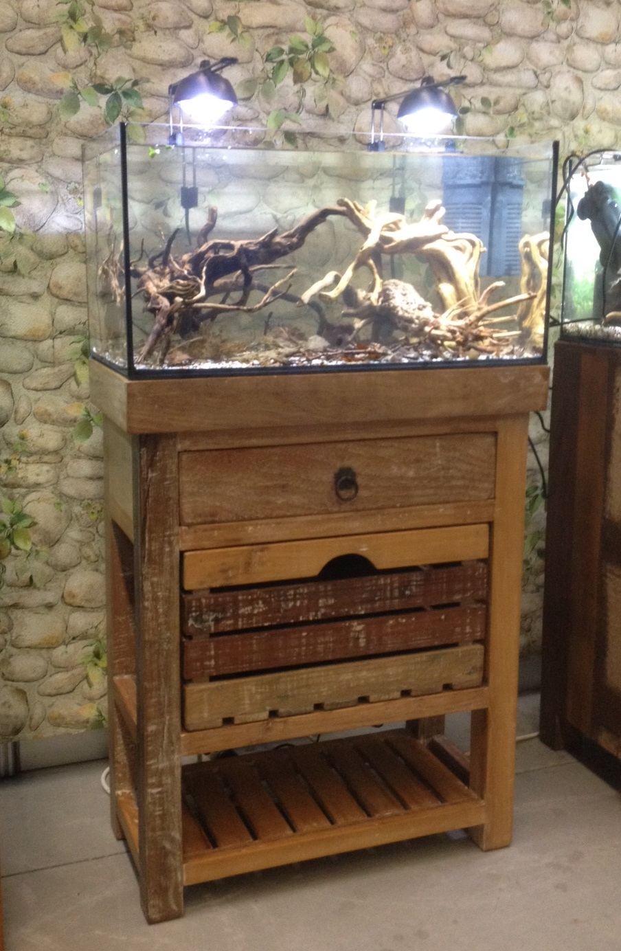 Aqua Ambiente Blog: Cabinet for aquarium set 60x30 cm ...