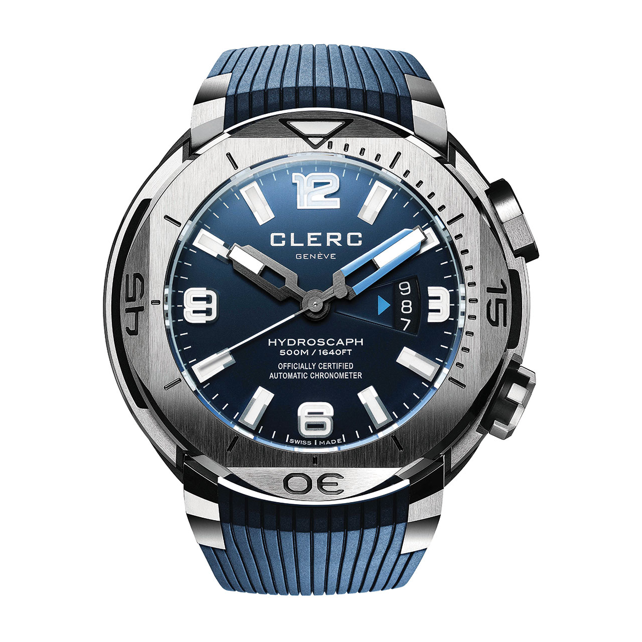 Clerc Hydroscaph H1 Chronometer Mechanical Watch