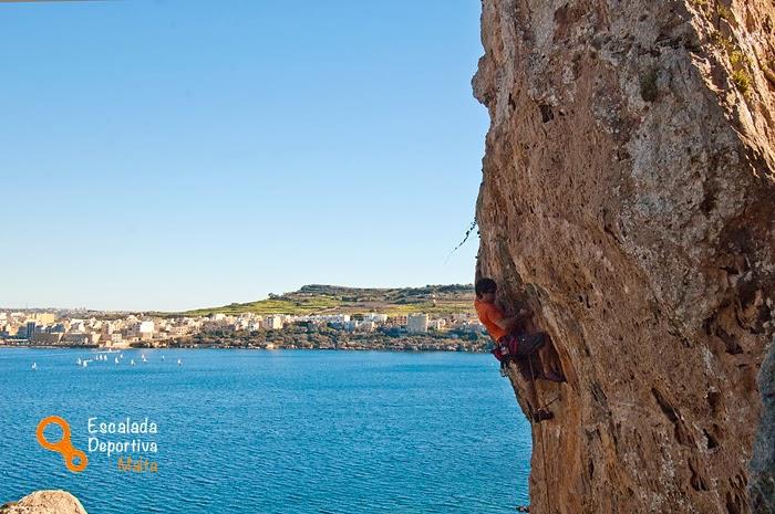 escalada en malta, gozo y comino