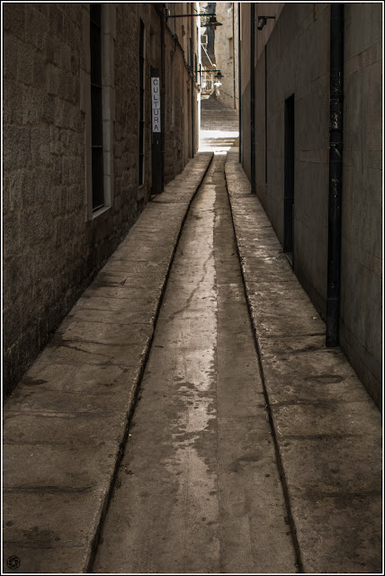 Girona: Callejones del casco antiguo