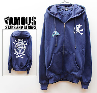 JAKET FAMOUS STAMS AND STRAPS